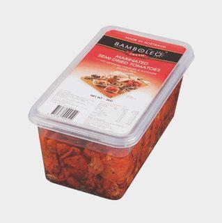 "Semi Dried Tomatoes 2kg tub ""Bamboleo"""