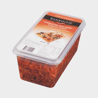 Sun Dried Tomato Strips 2kg tub Bamboleo