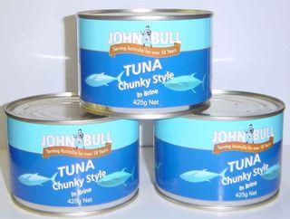 Tuna in Brine 425gm tin