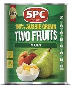 "Two Fruits Natural Juice ""SPC"" A10 tin"