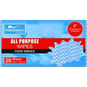 Wipes All Purpose Sheets 600x450mm Blue