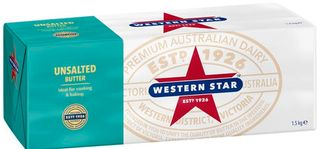"""Butter Catering Unsalted """"WStar"""" 1.5kg"""