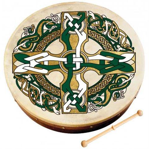 Waltons 18in Gaelic Cross Bodhran