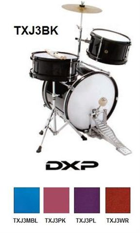 DXP PURPLE J3 JUNIOR Drum Kit