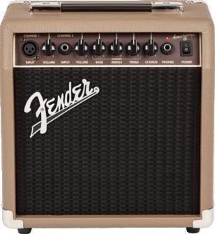 Fender Acoustasonic 15 Acoustic Gtr Amp