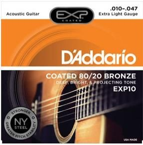 Daddario EXP10 80/20 -010-047 Strings