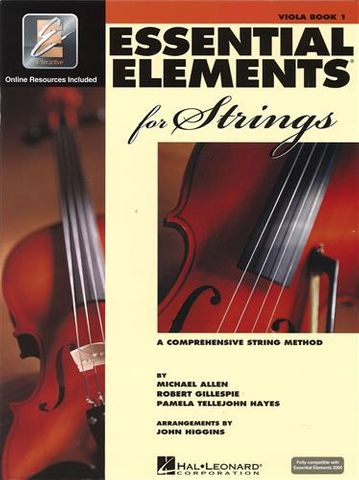 Essential Elements 1 VIOLA Book