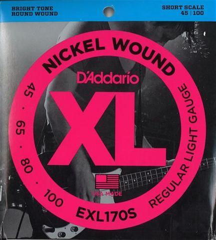 D'Addario EXL170S 45-100 SS  Bass String