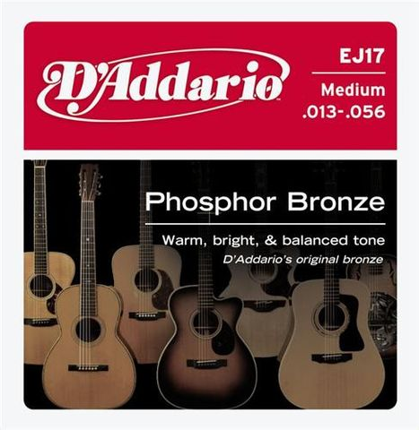 D'Addario EJ17 Acoustic Guitar Strings