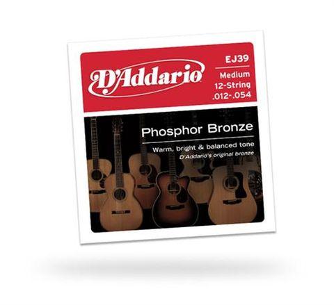 D'Addario EJ39 12 STRING Guitar Strings