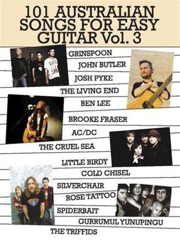 101 Australian Songs for Easy Guitar 3