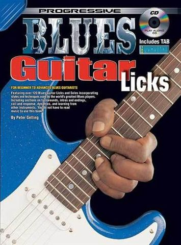 69057 Blues Gtr Licks Bk and CD
