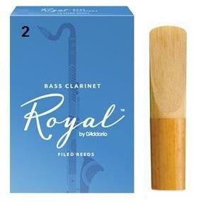 Rico Royal 2 Bass Clarinet Reed