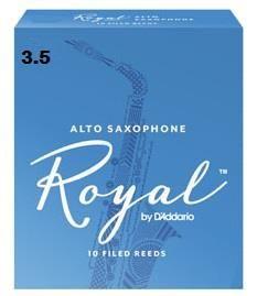 Rico Royal 3.5 Alto Sax Reed
