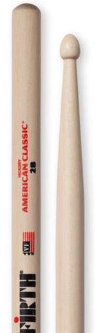 Vic Firth 2B Wood Tip Drum Sticks
