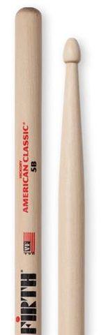 Vic Firth 5B Drum Sticks Wood Tip