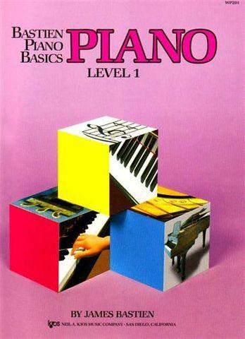 Bastien LEVEL 1 Piano Basics Piano
