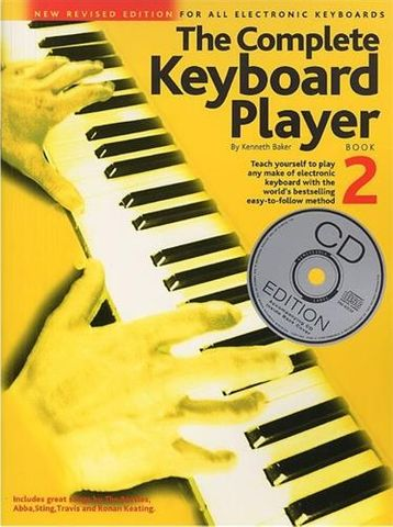 Complete Keyboard Player Bk 2 Bk/CD