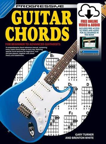 Progressive Guitar Chords Book 18309
