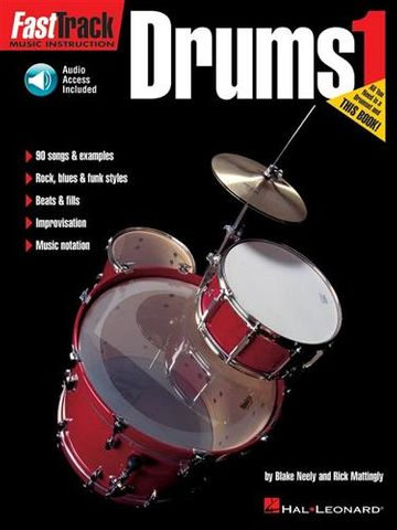 Fasttrack Drums Bk 1 Bk CD