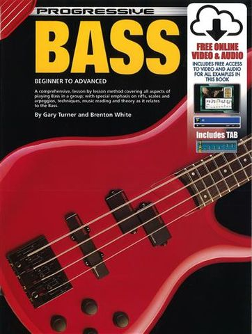 54044 Progressive Bass Guitar Book