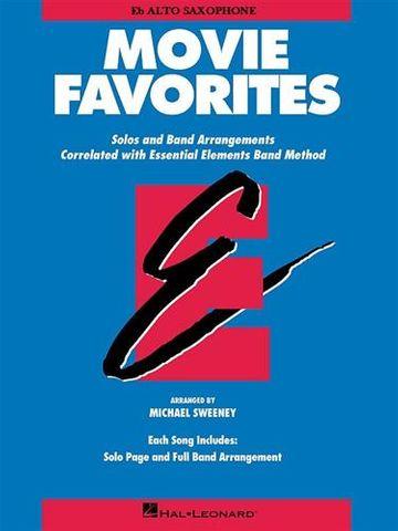 Movie Favorites EE Band Alto Saxophone
