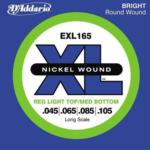 D'Addario EXL165 Bass Strings 045-105