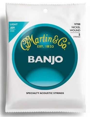 Martin V700/730 5 Str Banjo Set Md or Lt