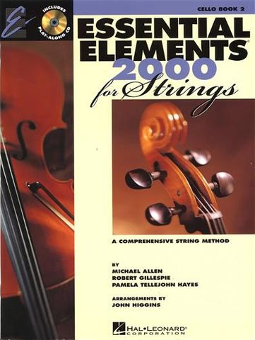 Essential Elements 2 CELLO Book