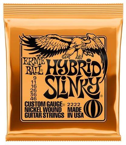 Ernie Ball 9-46 Hybrid Slinky Strings
