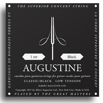 Black Augustine Classic Strings