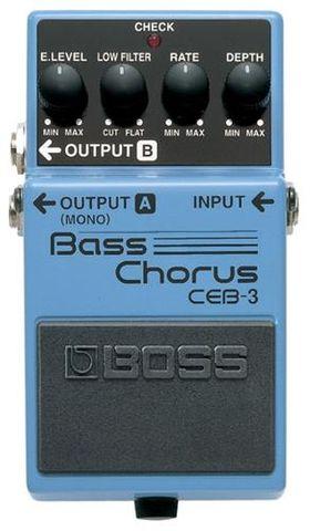 Boss CEB3 Bass Chorus Pedal