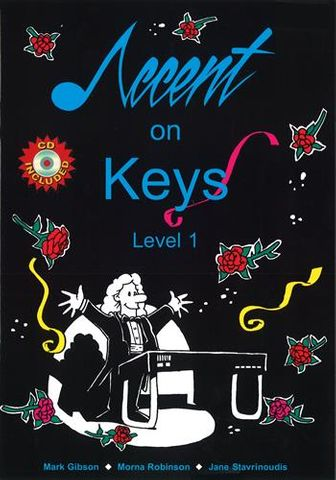Accent on Keys Level 1 Book and Audio