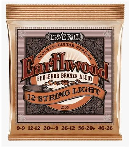 Ernie Ball Studio Bronze .009-.046 12St