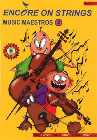 Music Maestros 2 VIOLA Bk CD