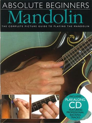 Absolute Beginners Mandolin Bk/Cd