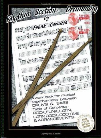 Corniola Rhythm Section Drumming Bk/CD