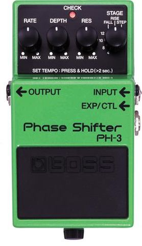 Boss Phase Shifter Effects Pedal