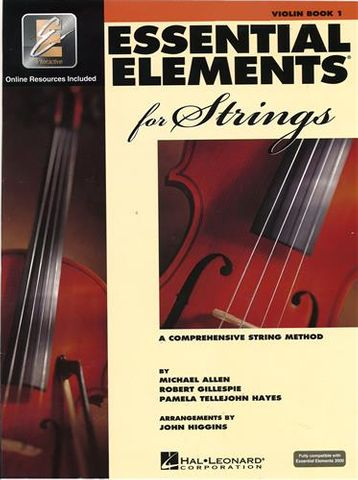 Essential Elements 1 VIOLIN Book