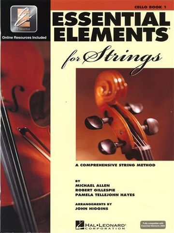 Essential Elements 1 CELLO Book