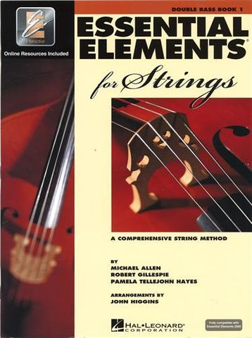 Essential Elements 1 DOUBLE BASS Book