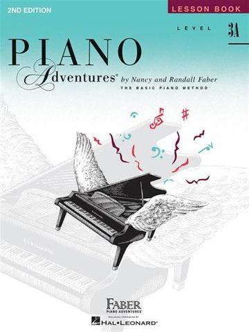 Piano Adventures Lesson Bk 3A
