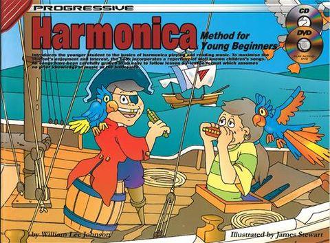 69140 Young Beginner Harmonica Bk/CD