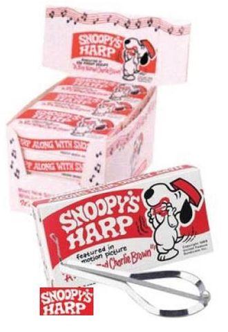 ED349 Snoopy Jaws Harp