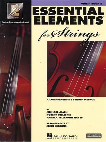 Essential Elements 2 VIOLIN Book