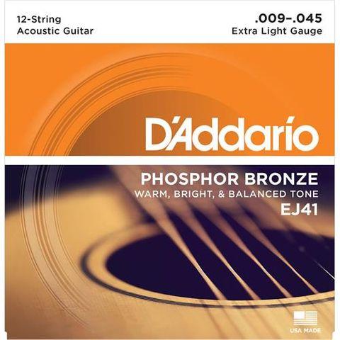 D'Addario EJ41 12 String Guitar Strings