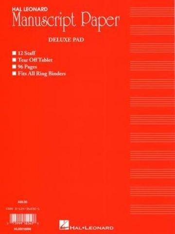 Deluxe Manuscript Pad
