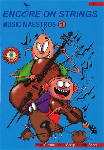 Music Maestros CELLO Bk 1 with CD