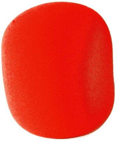 Onstage Foam Windscreen Red