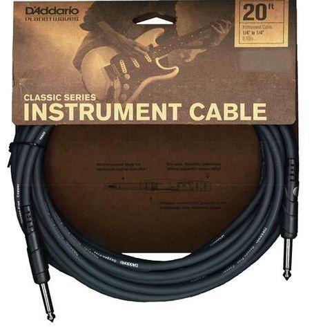 Planetwave 20ft Mono Guitar Cable